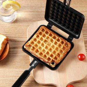Waffle Maker Makinesi DIY Yapışmaz Metal Pan Kek Fırın Balık Şeklinde Isıya Dayanıklı Kahvaltı Makinesi Ev Mutfak Aletleri
