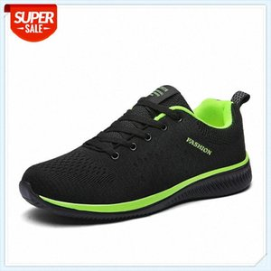 HKXN Spring Mesh Casual Shoes Sneakers Men Sport Shoes Breathable Sneakers Comfortable Women Lace Up Flats T #2213