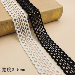 Ribbon Milk Silk Water-soluble Embroidery Lace Barcode Clothing Accessories Wholesale Children's DIY