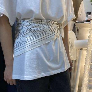 Recommandation des cheveux bouclés ~ Version coréenne Self Printemps minoritaire Spring et automne Polyatile Thin Thin Petite Écharpe carrée