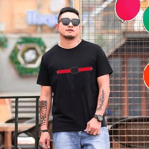 19SS известные мужские футболки высококачественные мужские и женские повседневные влюбленные влюбленные с короткими рукавами мужские футболки с короткими рукавами. Производитель прямых продажи 6 цветов