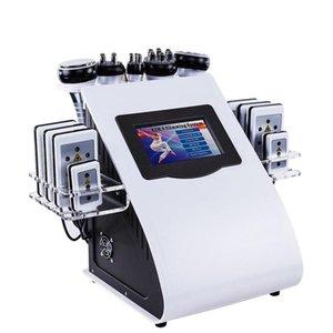 6in1 Abnehmen Bio Machine Professionelle Fettmassage Haut Heben Schönheit Radiofrequenz Vakuum Werkzeuge Körperformungsmassagegerät