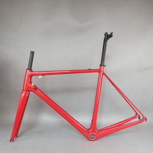 NewCarbon Frame FM066 Принимайте пользовательские краски Новый T1000 Полная каркас из углеродного волокна Полная рамка для велосипедов Новая технология EPS