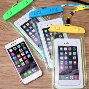 Telefon Trockentasche Universal Wasserdichte Hüllen High-Definition-Kamera für iPhone 11 Pro Max Samsung Galaxy S20 Ultra Note 10