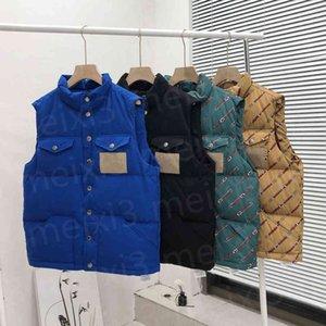 Man Down vest jacket winter Joint style vests coat men and women Outerwear thicken outdoor warm jackets multi-pocket Designer coats multiple colour