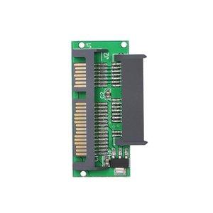 1.8in Micro SATA A SATA 2.5 Tarjeta de adaptador de disco duro SSD para computadora portátil Convertidor de computadora con chip de IC incorporado