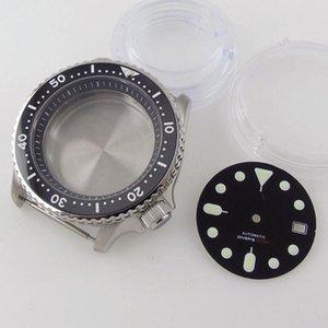 Repair Tools & Kits 41mm Sapphire Glass 200M Waterproof Watch Case + Green Luminous Dial FIt NH35A NH36A SKX007 MOVEMENT