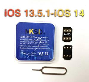 10pcs MKSD4 unlocking sim card support update ICCID+MNC version V13.3.1 GP ip6 7 8 plus x XS 11 11p 11pro max vsim v sim v-sim doubler DB gv