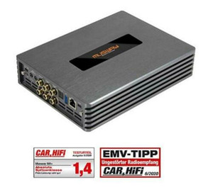 Hot ! Car M4 +4 Channel Class D Amplifier Amp With 8-KANAL Dsp 540 Watt RMS
