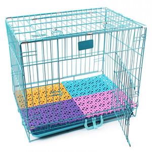 6 Color Mats Pet Transpirable Perro Cause Mat Mat Non-Slip Fit All Animals Cat Puppy Cama Baño Mesa de piso Tabla grande Perros Pie almohadilla