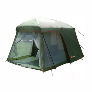 2021 Hot sale outdoor 5-8 persons beach camping tent anti proof wind rain UV waterproof 1room 1hall Large Gazebo