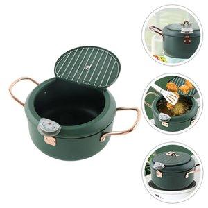 Pans 1Pc Japanese Style Tempura Mini Induction Cooker Fryer Non-stick Frying Pan