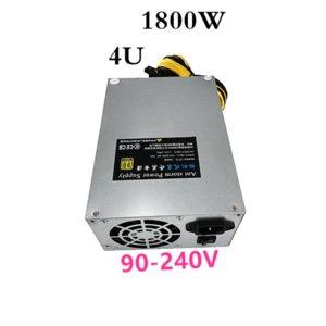 New PSU For Ant Storm Single 12V L3+ A3 D3 S7 S9 T9 V9 E9 G1 G2 R4 A4 A6 A7 Power Supply 1800W