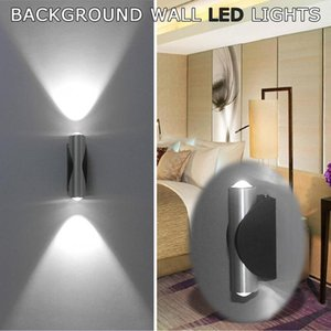 Wall Lamps Led Light Double-headed Lamp Home Sconce Bar Porch Decor White Decoration Ceiling #PY