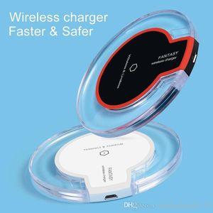 QI K9 Беспроводное зарядное устройство для телефона портативный фантастический кристалл универсальный светодиодный освещение планшет для зарядки для телефона S9 S8 8