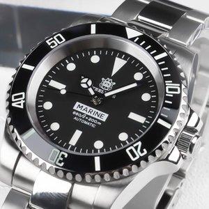 Steeldive 1954 Buck Watch NH35A Sapphire Crystal Diver Watch 200m Oman Sultan Ref.5513 / 5514 Buceo de acero BGW9 C3 Luminoso