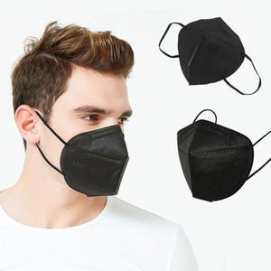 KN95 Yetişkin Çocuklar Için Yüz Maskesi Aktif Karbon Solunum Solunum Kuralları Vanası 5 Katmanlı Tasarımcı Yüz Maskesi Ücretsiz Kargo DHL.