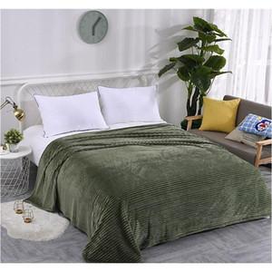 Flannel Blanket Soft Warm Coral Fleece Blanket Winter Sheet Bedspread Sofa Plaid Throw 270gsm Light Thick Mechani jllQTW xmhyard