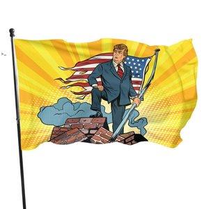 2024 Keep America Great First Tank Hero Donald Trump Flag 90x150cm OWD10449