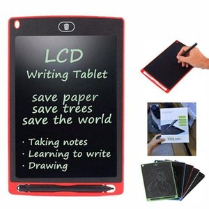 8.5 inch LCD Writing Tablet Drawing Board Blackboard Handwriting Pads for Adults Kids Tablets Memos With Upgraded Pen Free Shipping