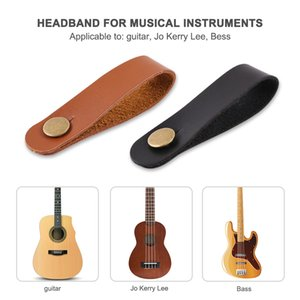 Leather Strap Holder Button Belts Music Lovers Playing Safe Lock Electric Guitar Accessories