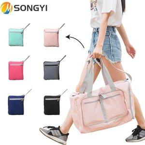 Bolsa de ombro Songyi Songyi Solid Formação Bagagem Saco de curta distância 2021 Esportes Yoga Portátil Homens Mulheres Fitness Bag S189 ICCDJ