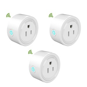 Smart Plug Smart Socket WiFi Power Socket Switch For Google Home App Compatible With Amazon Alexa Connected By WiFi US Plug