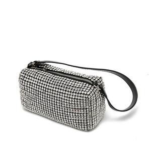 Z Горячая новая сумка дизайнер мисс Ван Брюки выдумчивая ужин сумка женские блеск алмазные вечерние сумки леди блестящие горный хрусталь вечеринки