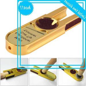 Muti Funcional Forma de U Forma de U Billar Trimmers Fabricante Nikkel Shaper Trimmer Cue Tip Herramienta de reparación