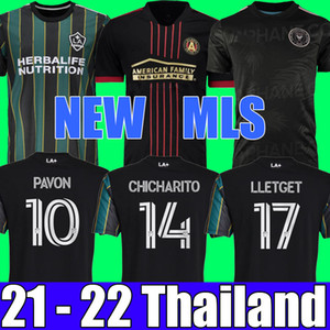 MLS NEW 21 22 Maillot de football LA Galaxy Maillots de football Atlanta United FC 2021 2022 Maillots Inter Miami CF CHICHARITO PAVON HOMMES + ENFANTS Higuain