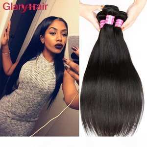 Wholesale Mink Brazilian Virgin Hair Bundles Straight Human Hair Extensions Unprocessed Brazilian Straight Remy Human Hair Weave Dh gates