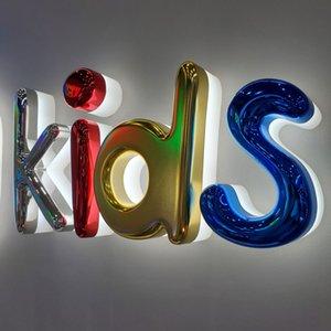 Доступная цена красочные оцинкованные подсветки буквы оргстекляссионные сгибные знаки крытый открытый водонепроницаемый стена-декор приема стойки регистрации