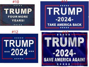 트럼프 플래그 2024 선거 플래그 배너 도널드 트럼프 플래그 아메리카 그레이트 다시 Ivanka Trump 플래그 150 * 90cm 13 스타일 Sea Ship GWB5017