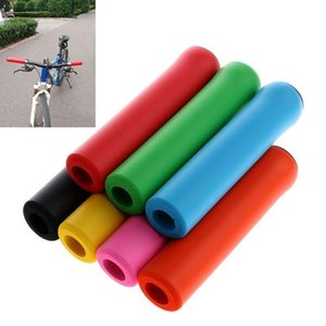 Bike Handlebars &Components 1 Pair Bicycle Grips Super Light Silicone Non-Slip AbsorptionType Road Handle Bicycles Parts Mountain Cuff