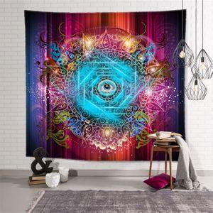 Wall Hanging Tapestry Bohemian Yoga Towel Mandala Beach Throw Rug Blanket Camping Tent Sleeping Pad Tapestries 11 Designs BT1068