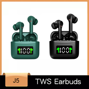Wireless Earphone Bluetooth 5.2 TWS Headsets LED Display with mic Hifi Stereo Sport Earbuds earphones bass for smart phone
