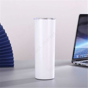 DIY Blank 20oz Sublimation Tumbler Double Wall Stainless Steel Vacuum Insulated Water Mugs For Travel DAZ203