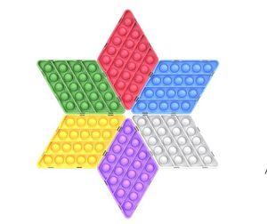 Fidget Toy Sensory Push Bubble Fidget Sensory Toy Decompression Toy Autism Special Needs Anxiety Stress Reliever BWB5202