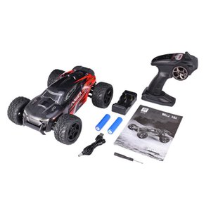 G172 2.4G 1:16 4WD 36km h High Speed Racing Car Strong Power Motor Remote Control Off-Road Car Toy Gift For Kids Red Green H1013