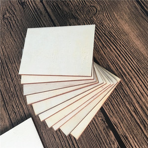 Diy Wood Chips Blank Hand Painted Square Fashion Accesories Original Unfinished Woman Man Wooden Slices Room 0 23ty K2