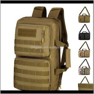 35L Portable Shoulder Cross-Body Tactical Backpack Men Women Outdoor Sports Travel Laptop Bag Molle Military Backpack Shs417 Y200920 C 0Ldo2