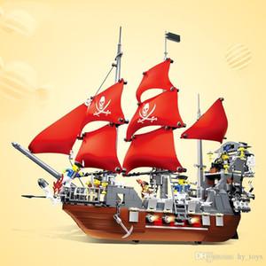 1123 Granül, Yüksek Kaliteli Çevre Koruma Malzemesi, Korsan Gemi Blackbeard Montaj Yapı Taşları, Montaj Yapı Taşları Oyuncaklar