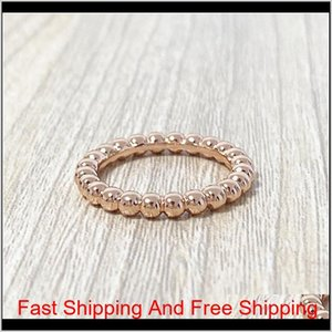 Titanium Steel Gold Open Ring Rose Gold Four Leaf Clover Finger Ring Female Ring Jewelry Wholesales With Boxes Shipping Wholesale K3Vj Yw0Fl