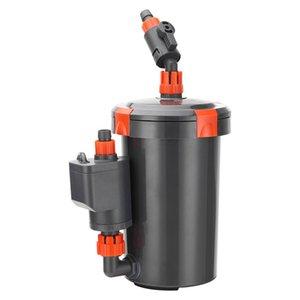 Silent external for aquarium barrel grass filter pump fish tank