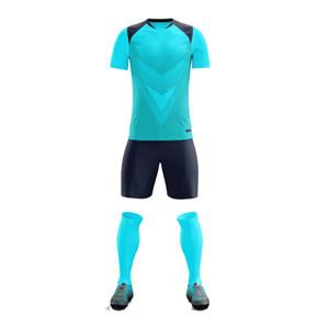 005 Высочайшее качество футбол для футболки дышащие футбольные наборы влаги умирают футбол для мужчин + дети настроить имя и футболку