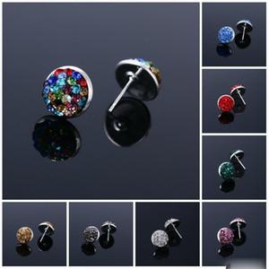 2021 Pretty Earrings for women rhinestone crystal party boho earrings channel Stud Earrings