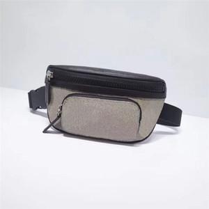 الكلاسيكية نمط المرأة والرجال الأزياء الخصر أكياس جلد طبيعي فاني حزمة مطبوعة مصمم fannypack الصدر حزام حقيبة 450946