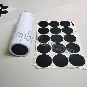 15 унций 20 унций 30 унций Круглый черный резиновый кабельный накладки сам клейкая чашка нижних наклейки для тумблеров защитные нескользящие подушки DHL доставки