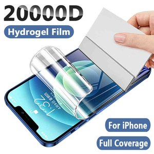 Full Cover Hydrogel Film Screen Protector For iPhone 11 12 Pro Max Mini XR XS Soft Protective 7 8 6s Plus SE