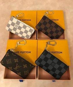 "Designers luxurys Purses KEY POUCH POCHETTE CLES Women Mens Key Ring Credit Card Holder Coin Purses Men Mini Wallet Bag GG""LV""Louis…Vitton""YSL…VUTTON"